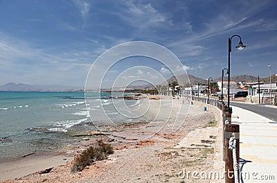 Beach of La Azohia, Spain