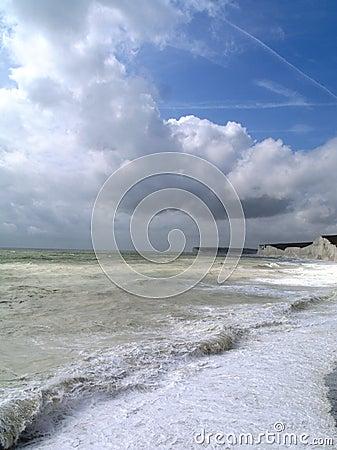 Beach Landscape, Sussex, England