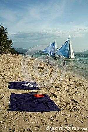 Beach Life Boracay Island Philippines