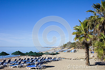 Beach in Marbella