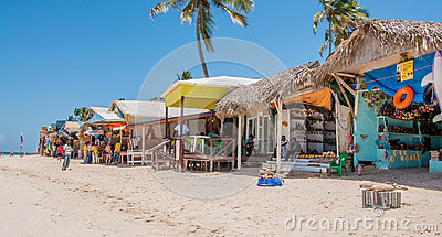 Beach Market in Punta Cana