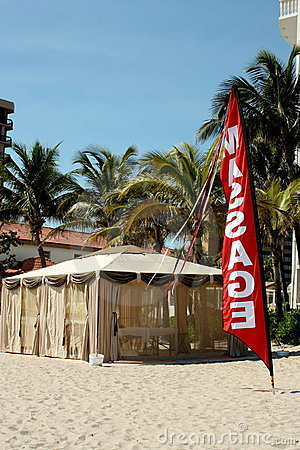 Beach Massage Hut