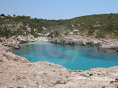 Beach in Menorca (Spain)
