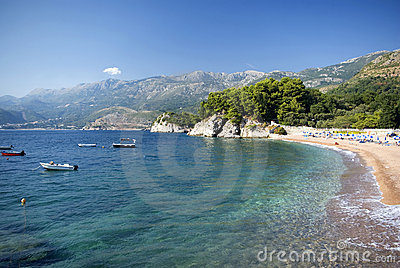 Beach in Montenegro