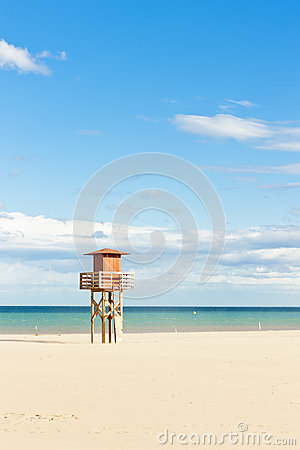 Beach in Narbonne Plage