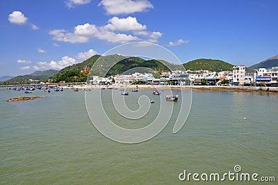 Beach in Nha Trang,Vietnam Editorial Image