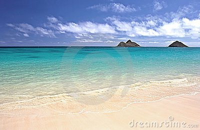 Beach of Oahu, Hawaii