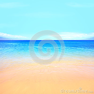 Free Beach Ocean Background Royalty Free Stock Photos - 28999698
