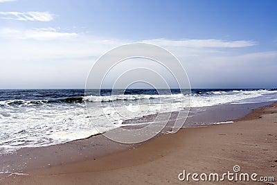 Beach ocean waves