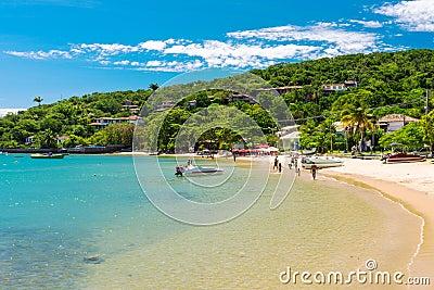 Beach of Ossos in Buzios, Rio de Janeiro