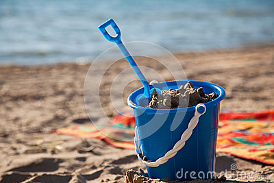 Beach Pail and Shovel