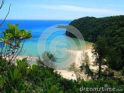 Beach Paradise in Borneo