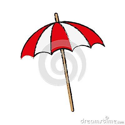 Free Beach Parasol Icon Royalty Free Stock Image - 87627376