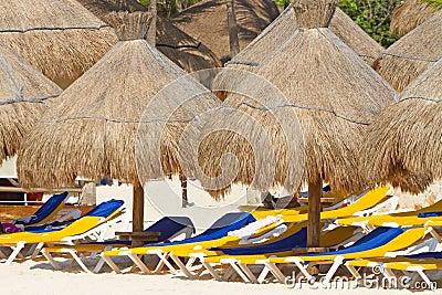 Beach parasols