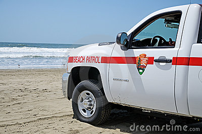 Beach Patrol Editorial Photo