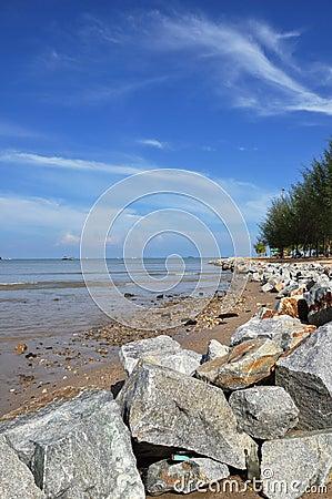 ิฺBeach of Phuket town Thailand