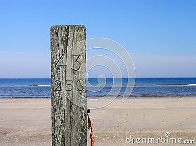Beach pole nr. 43-250