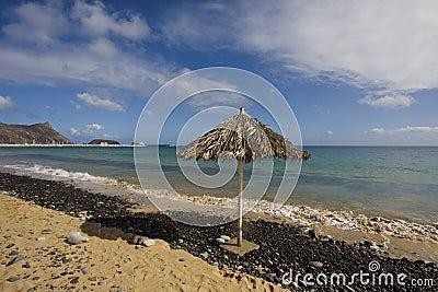Beach in Porto Santo Island