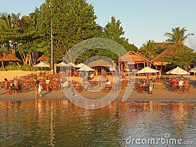 Beach Restaurant Editorial Image
