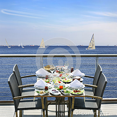 Free Beach Restaurant Stock Photos - 25831453