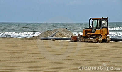 Beach Restoration at Virginia Beach