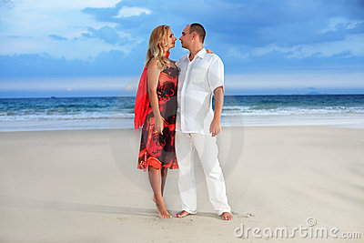 Beach romantic