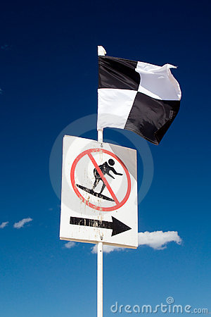 Beach Safety Flag