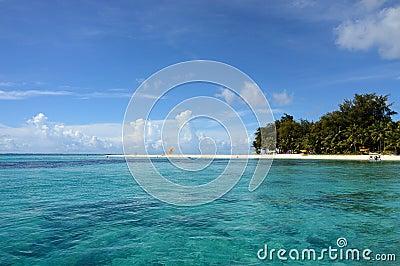 Beach in Saipan