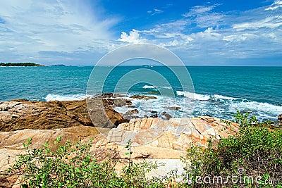Beach at Samed Island,Thailand