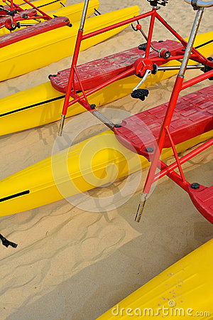 Beach sand bicycle floater