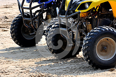 Beach sand motorcycle sport