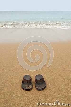 Free Beach Sandals Stock Photos - 18973883
