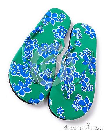 Free Beach Sandals Stock Image - 7472811