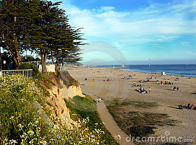 Beach at Santa Cruz