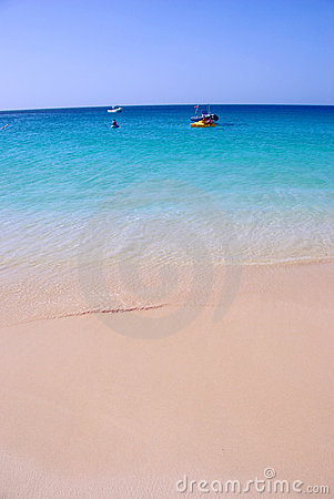 Beach at Santa Maria, Sal Island, Cape Verde