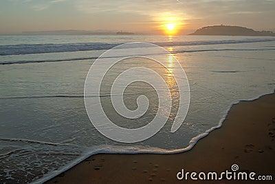 Beach of Santander, Spain