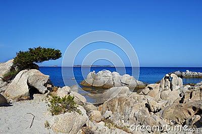 Beach in Sardinia, Italy