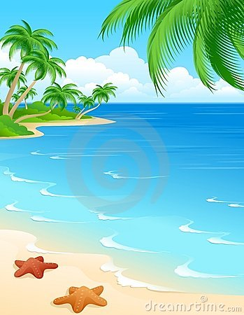 Free Beach Scene Royalty Free Stock Images - 4179129