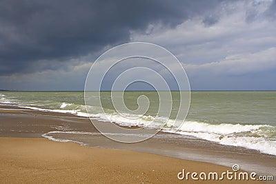Beach and the  Sea