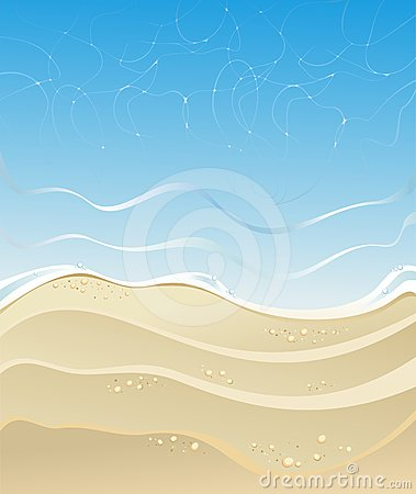 Beach and sea background