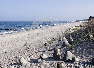Beach,sea and dunes