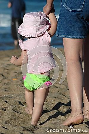 Beach Series: Mom & Daughter