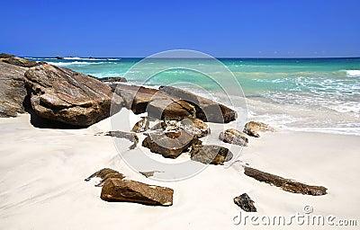 Beach in the Seychelles