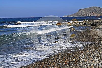 Beach of sfinari