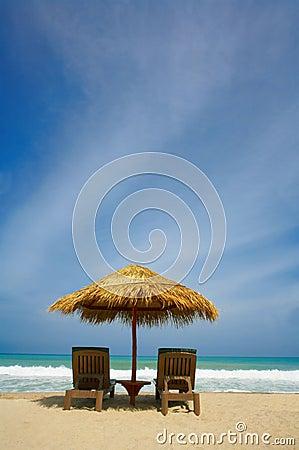 Free Beach Shelter Stock Photo - 2702150