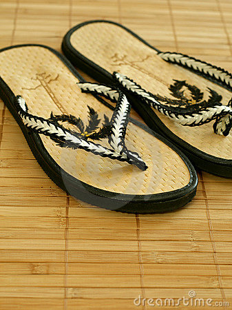 Free Beach Shoes Royalty Free Stock Photo - 10283435