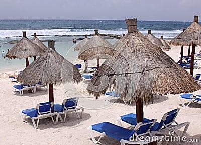 Beach-side Huts