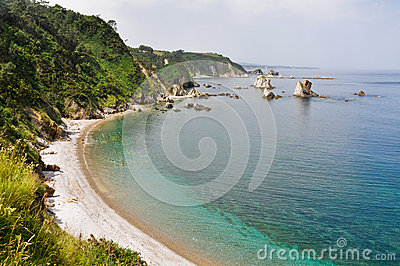 Beach of Silence, Asturias (Spain)