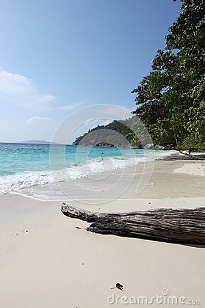 Beach in the Similan Islands
