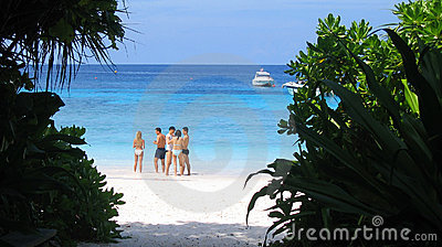 Beach at Similan Islands, Thailand